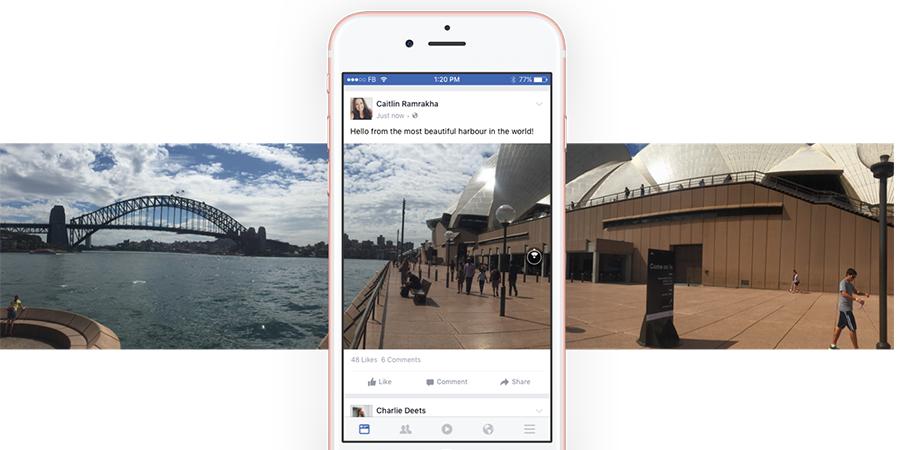 Facebook Uygulamasında 360 Derece Fotoğraf Çekebilecek